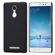 Coque Plastique Rigide Mailles Filet pour Xiaomi Redmi Note 3 MediaTek Noir
