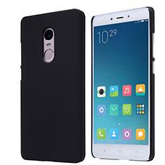 Coque Plastique Rigide Mailles Filet pour Xiaomi Redmi Note 4 Noir