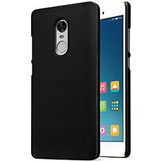Coque Plastique Rigide Mailles Filet pour Xiaomi Redmi Note 4 Standard Edition Noir