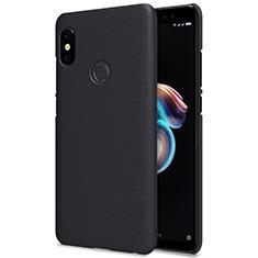 Coque Plastique Rigide Mailles Filet pour Xiaomi Redmi Note 5 Noir
