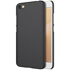Coque Plastique Rigide Mailles Filet pour Xiaomi Redmi Note 5A Standard Edition Noir
