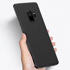 Coque Plastique Rigide Mailles Filet W01 pour Samsung Galaxy S9 Noir
