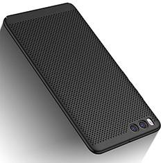 Coque Plastique Rigide Mailles Filet W01 pour Xiaomi Mi 6 Noir