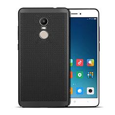 Coque Plastique Rigide Mailles Filet W01 pour Xiaomi Redmi Note 4X Noir