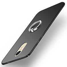 Coque Plastique Rigide Mat avec Support Bague Anneau A02 pour Xiaomi Redmi Pro Noir