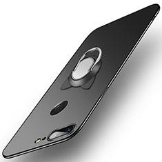 Coque Plastique Rigide Mat avec Support Bague Anneau pour OnePlus 5T A5010 Noir