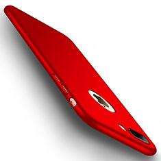 Coque Plastique Rigide Mat C01 pour Apple iPhone 8 Plus Rouge