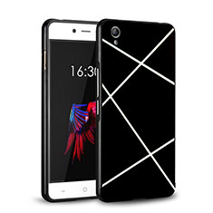 Coque Plastique Rigide Mat Line pour OnePlus X Noir