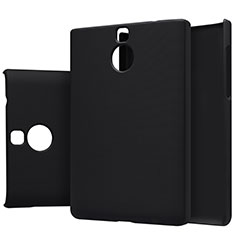 Coque Plastique Rigide Mat M01 pour Blackberry Passport Silver Edition Noir