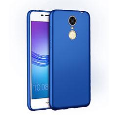 Coque Plastique Rigide Mat M01 pour Huawei Enjoy 6 Bleu