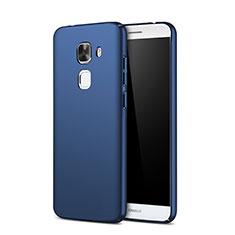 Coque Plastique Rigide Mat M01 pour Huawei G9 Plus Bleu