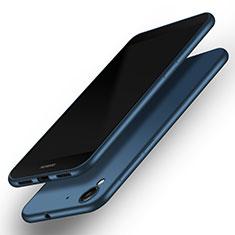 Coque Plastique Rigide Mat M01 pour Huawei Honor 5A Bleu