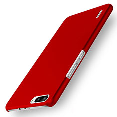 Coque Plastique Rigide Mat M01 pour Huawei Honor 6 Plus Rouge