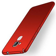 Coque Plastique Rigide Mat M01 pour Huawei Honor 7 Lite Rouge