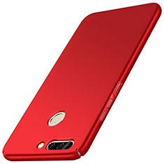 Coque Plastique Rigide Mat M01 pour Huawei Honor 8 Pro Rouge
