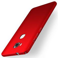 Coque Plastique Rigide Mat M01 pour Huawei Honor Play 5X Rouge