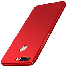 Coque Plastique Rigide Mat M01 pour Huawei Honor V9 Rouge