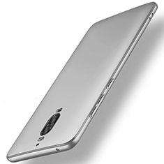 Coque Plastique Rigide Mat M01 pour Huawei Mate 9 Pro Argent