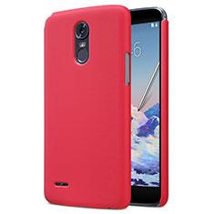 Coque Plastique Rigide Mat M01 pour LG Stylus 3 Rouge