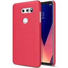Coque Plastique Rigide Mat M01 pour LG V30 Rouge