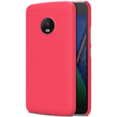 Coque Plastique Rigide Mat M01 pour Motorola Moto G5 Plus Rouge