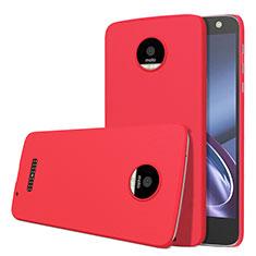 Coque Plastique Rigide Mat M01 pour Motorola Moto Z Rouge