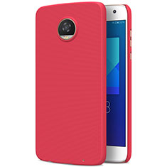 Coque Plastique Rigide Mat M01 pour Motorola Moto Z2 Play Rouge