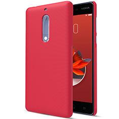 Coque Plastique Rigide Mat M01 pour Nokia 5 Rouge