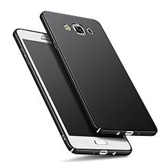 Coque Plastique Rigide Mat M01 pour Samsung Galaxy A7 Duos SM-A700F A700FD Noir