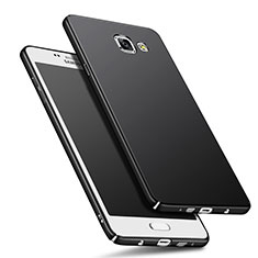 Coque Plastique Rigide Mat M01 pour Samsung Galaxy A9 Pro (2016) SM-A9100 Noir