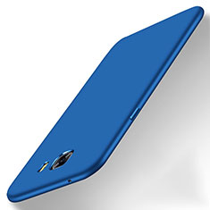 Coque Plastique Rigide Mat M01 pour Samsung Galaxy C9 Pro C9000 Bleu