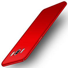 Coque Plastique Rigide Mat M01 pour Samsung Galaxy J5 (2016) J510FN J5108 Rouge