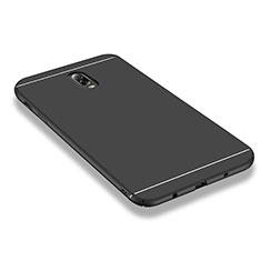 Coque Plastique Rigide Mat M01 pour Samsung Galaxy J7 Plus Noir