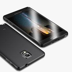 Coque Plastique Rigide Mat M01 pour Samsung Galaxy Note 4 Duos N9100 Dual SIM Noir