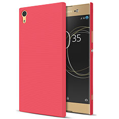 Coque Plastique Rigide Mat M01 pour Sony Xperia XA1 Ultra Rouge