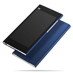 Coque Plastique Rigide Mat M01 pour Xiaomi Mi 3 Bleu