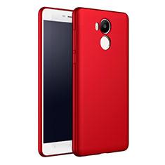 Coque Plastique Rigide Mat M01 pour Xiaomi Redmi 4 Prime High Edition Rouge
