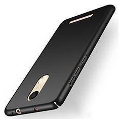 Coque Plastique Rigide Mat M01 pour Xiaomi Redmi Note 3 MediaTek Noir