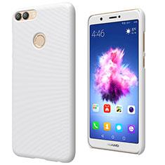 Coque Plastique Rigide Mat M02 pour Huawei Enjoy 7S Blanc