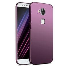 Coque Plastique Rigide Mat M02 pour Huawei G7 Plus Violet