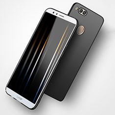 Coque Plastique Rigide Mat M02 pour Huawei Honor 7X Noir