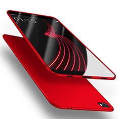 Coque Plastique Rigide Mat M02 pour Huawei P8 Lite Rouge
