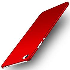 Coque Plastique Rigide Mat M02 pour Huawei P8 Max Rouge