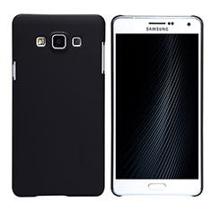 Coque Plastique Rigide Mat M02 pour Samsung Galaxy A7 Duos SM-A700F A700FD Noir