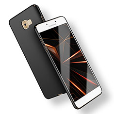 Coque Plastique Rigide Mat M02 pour Samsung Galaxy C9 Pro C9000 Noir