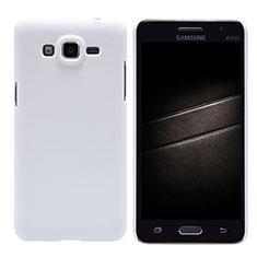Coque Plastique Rigide Mat M02 pour Samsung Galaxy Grand Prime 4G G531F Duos TV Blanc