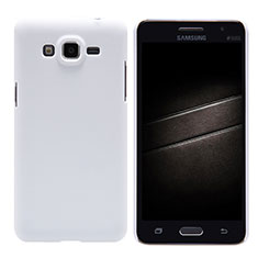 Coque Plastique Rigide Mat M02 pour Samsung Galaxy Grand Prime SM-G530H Blanc