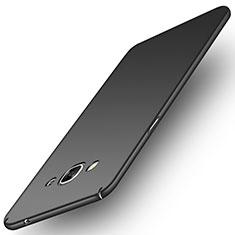 Coque Plastique Rigide Mat M02 pour Samsung Galaxy J3 Pro (2016) J3110 Noir