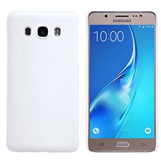 Coque Plastique Rigide Mat M02 pour Samsung Galaxy J5 (2016) J510FN J5108 Blanc