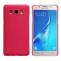 Coque Plastique Rigide Mat M02 pour Samsung Galaxy J5 (2016) J510FN J5108 Rouge